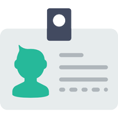 Green Business Cards icon