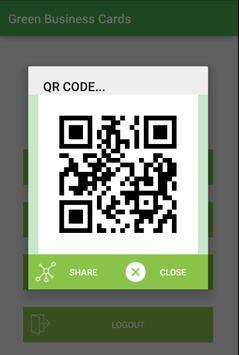 Green Business Cards screenshot 2