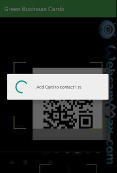 Green Business Cards screenshot 3