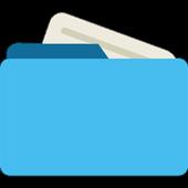 Gerenciador de arquivos ícone
