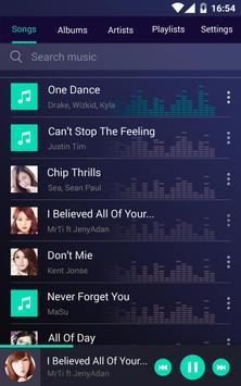 Mp3播放器 - 播放免费音乐,歌曲 apk 截图