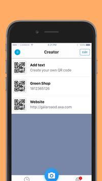 Czytnik kodu QR screenshot 6