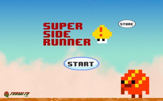 Super Side Runner World poster