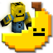 Craft Pixel Mini Banana Hero icon