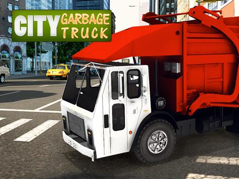 Garbage Truck Simulator apk screenshot