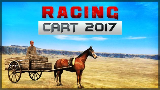Racing Cart simulator 2017 poster