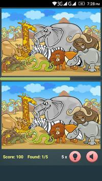 Find The Differences - Cartoon apk screenshot