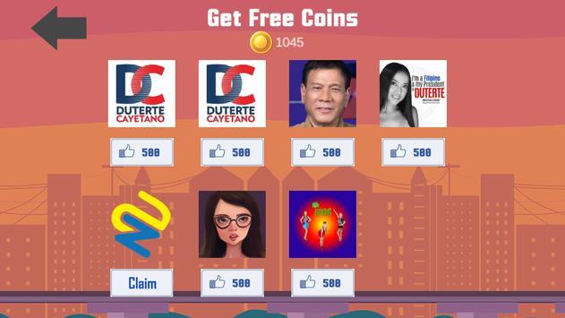 Duterte (DU30) vs NogCybot apk screenshot