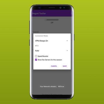 ToofanVpn Software screenshot 5