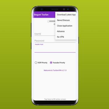 ToofanVpn Software screenshot 6