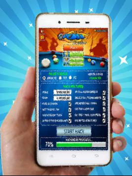 Cheat 8 Ball Pool tool free Coins and Cash - Prank poster