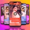 FullScreen Female Video Status Maker - 30 Sec icon