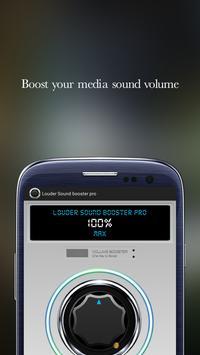 Louder Sound booster pro screenshot 1
