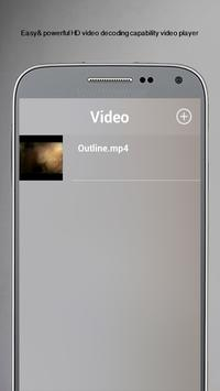 MP4 Video player for android poster