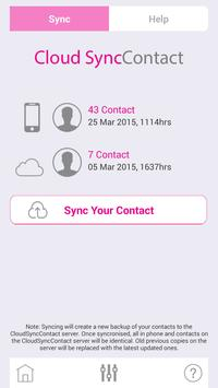 Cloud SyncContact screenshot 2