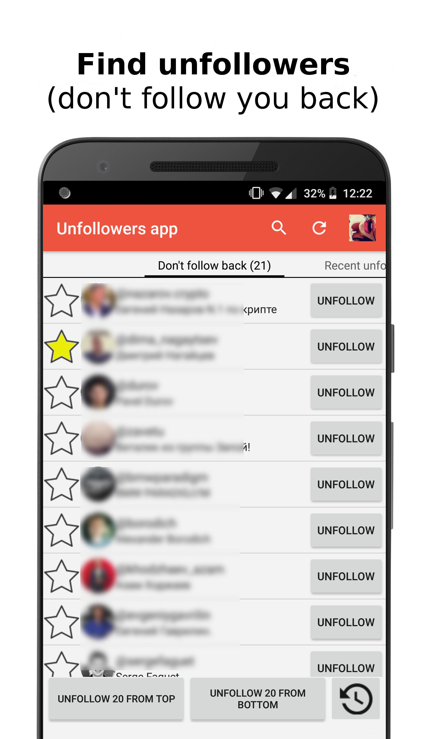 Unfollowers for Instagram 2018 for Android - APK Download