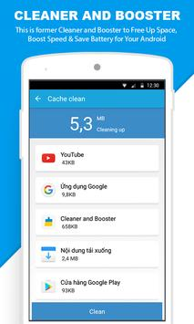 Cleaner and Booster apk screenshot