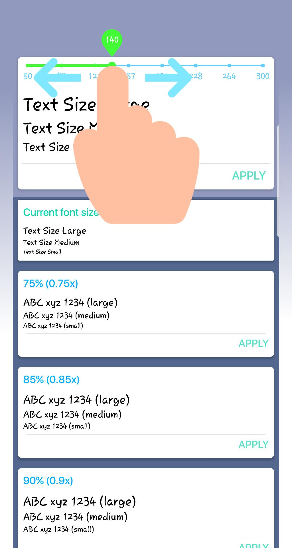 Font Resize - Change Font Size for Android - APK Download