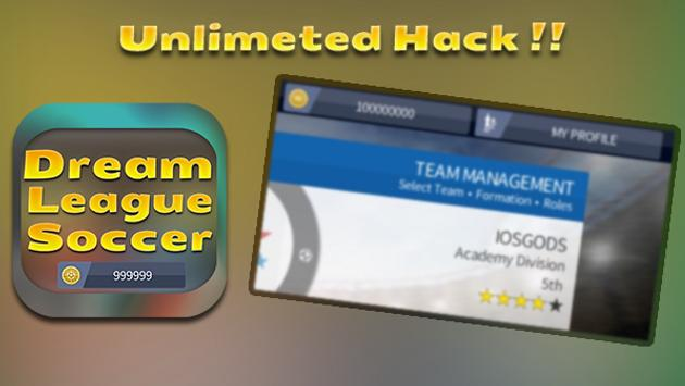 New Hack For Dream League Fun App - Prank!! for Android