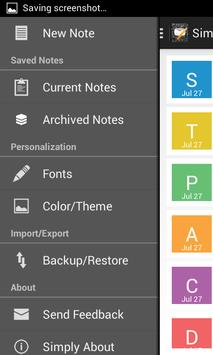 Simply Notes Free - Notepad screenshot 2