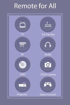 Universal Remote Control for All screenshot 1