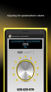 Volume booster -Sound enhancer apk screenshot