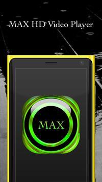 MAX HD Video Player apk screenshot