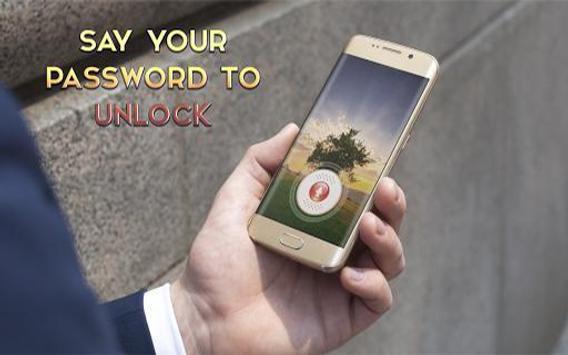 Voice Lock screen poster