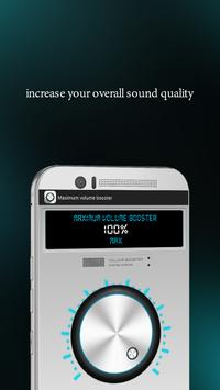 Maximum volume booster apk screenshot