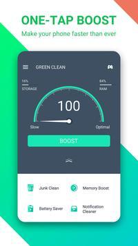 Green Clean الملصق