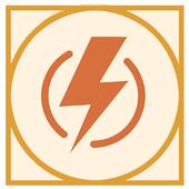Fast battery calibrator icon