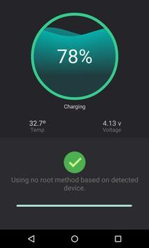 Fast battery calibrator apk screenshot