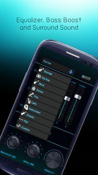 Bass booster - MP3 booster screenshot 1