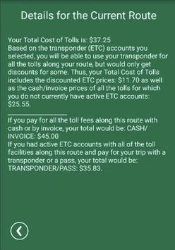 Tollsmart screenshot 3