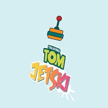 tom jet ski and jerry poster