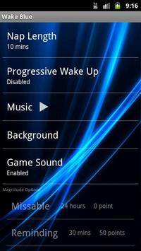 Wake Blue apk screenshot