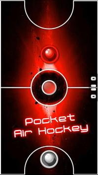 Two Player Games: RED Air Hockey poster