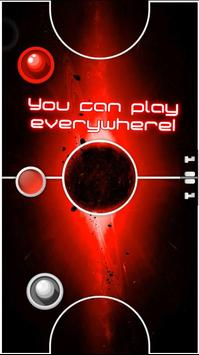 Two Player Games: RED Air Hockey screenshot 1