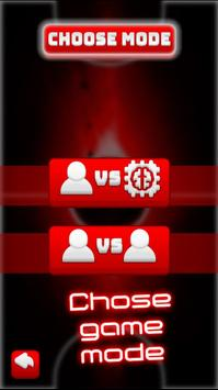 Two Player Games: RED Air Hockey screenshot 2