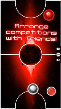 Two Player Games: RED Air Hockey screenshot 3