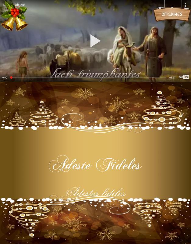 spanish christmas carols apk screenshot
