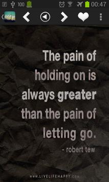 Letting Go Quotes Wallpapers screenshot 1