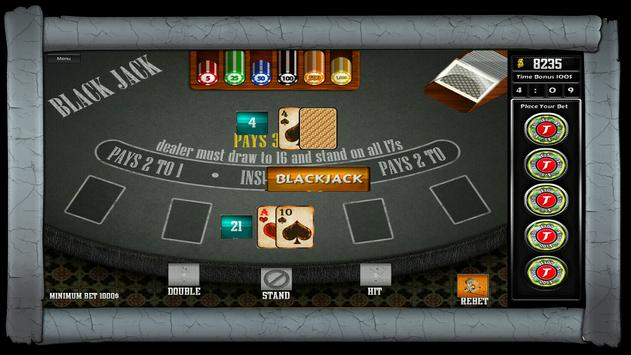 21 Blackjack apk screenshot