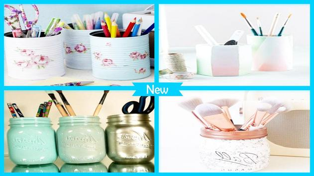 Best DIY Ombre Pen Vase For Desk poster