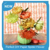 Perfect DIY Paper Spider Flower icon