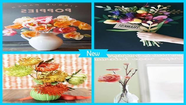Perfect DIY Paper Spider Flower poster