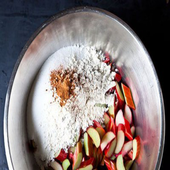 Chocolate Cherry Pie Recipe icon