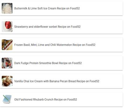 Strawberry Tarragon Ice Pops Recipe apk screenshot