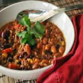 Spicy Black Bean Chili Recipe icon