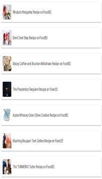 Tonic Cocktail Recipe apk screenshot